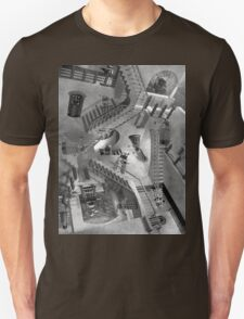 Escher's Asylum of the Daleks Unisex T-Shirt