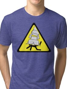 AT-AT Crushing Hazard Tri-blend T-Shirt