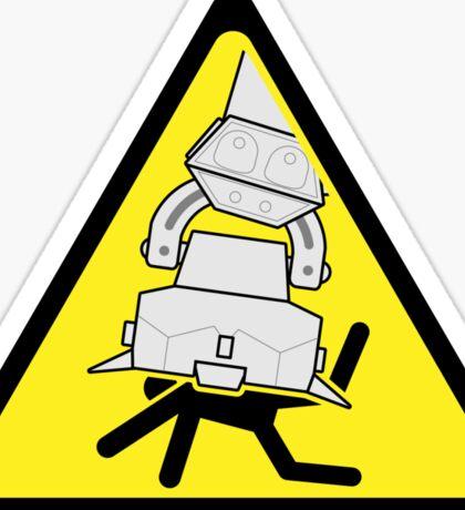AT-AT Crushing Hazard Sticker
