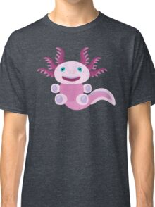 Cute Axolotl and The Bubbles Classic T-Shirt