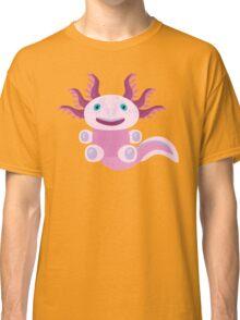 Cute Axolotl and The Bubbles Classic T-Shirt