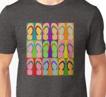 Summer Pop Art Design Retro Graphic Flip Flop Sandal Shoe  Unisex T-Shirt