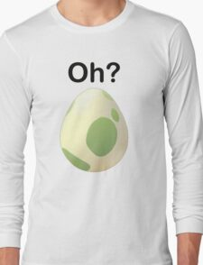 Oh? Pregnant Pokemon Go shirt Long Sleeve T-Shirt
