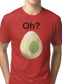 Oh? Pregnant Pokemon Go shirt Tri-blend T-Shirt