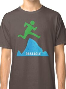 Stickman Jumping Over Obstacle Classic T-Shirt