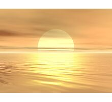 Big Sunset Photographic Print