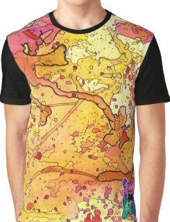 Yellow Splatagram Graphic T-Shirt