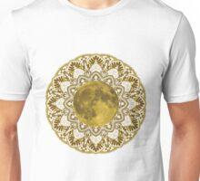 GOLD MOON MANDALA Unisex T-Shirt