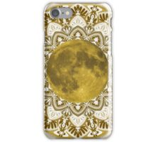GOLD MOON MANDALA iPhone Case/Skin