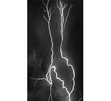 Lightning Storm  Photographic Print