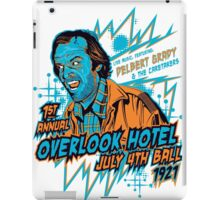1st Annual Overlook Hotel July 4th Ball (alternate colors) iPad Case/Skin