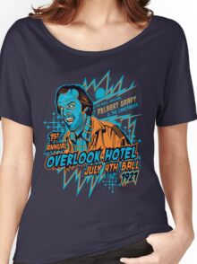 1st Annual Overlook Hotel July 4th Ball (alternate colors) Women's Relaxed Fit T-Shirt