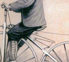 VELOCIPEDE, BIKE, PUSH BIKE, BICYCLE, Young, Velocipedist, Michaux, Velocipede, 1868 Sticker