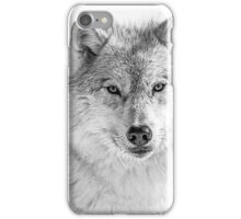 Black and White Wolf iPhone Case/Skin