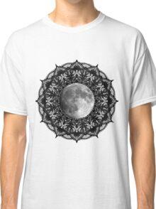 SILVER MOON MANDALA Classic T-Shirt