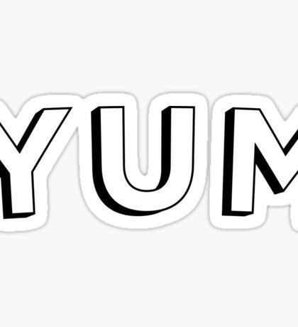 YUM Sticker