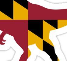Maryland T-Rex Sticker