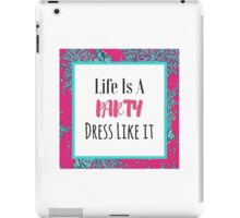Lilly Pulitzer - Life is a party iPad Case/Skin