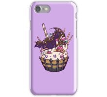 Cute Halloween Bat Dessert Cupcake iPhone Case/Skin