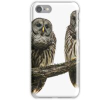 Barred Owls iPhone Case/Skin
