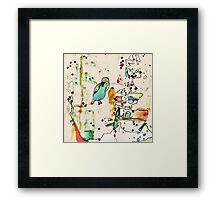 palm springs Framed Print