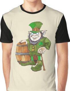 IRISH LEPRECHAUN Graphic T-Shirt