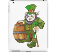 IRISH LEPRECHAUN iPad Case/Skin