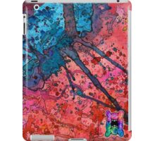 Red and Blue Splatagram iPad Case/Skin