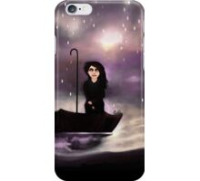 Floating through a coloured perfect world. iPhone Case/Skin