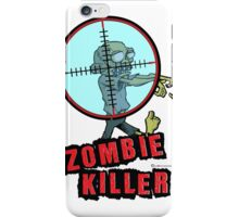 Zombie Killer iPhone Case/Skin