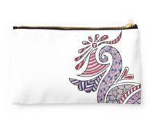 Graceful Swan- on white Studio Pouch