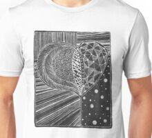 Zentangle Pattern 10 Unisex T-Shirt