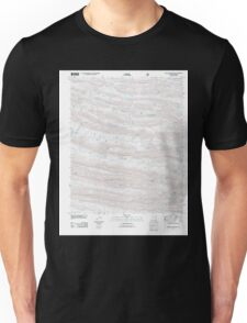 USGS TOPO Map Arkansas AR Nichols Mountain 20110811 TM Unisex T-Shirt
