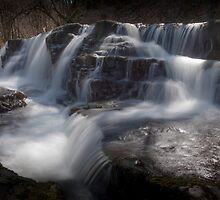 Waterfall country, South Wales by leightoncollins