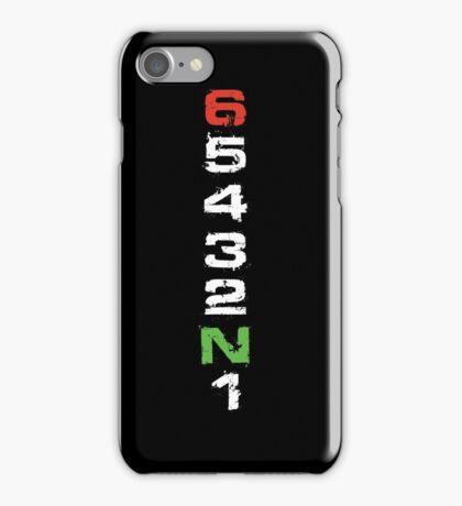 Motorcycle Gear Shift Racing T-Shirt Moto Sportbike iPhone Case/Skin