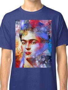Frida Kahlo Painted Classic T-Shirt