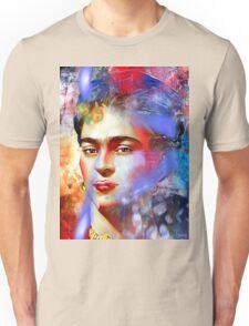 Frida Kahlo Painted Unisex T-Shirt