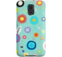 Colorful Happy Circles Samsung Galaxy Case/Skin