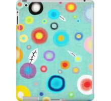 Colorful Happy Circles iPad Case/Skin