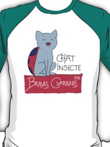 Chat Insecte T-Shirt