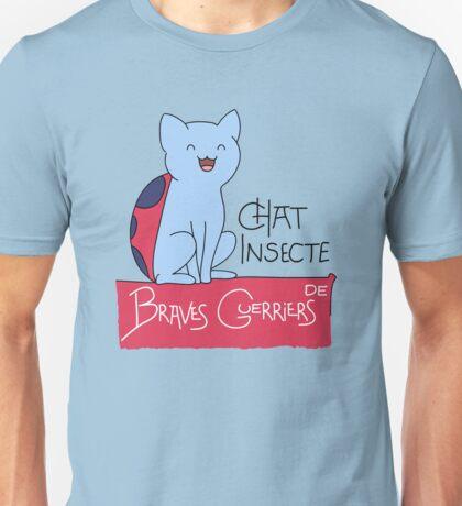 Chat Insecte Unisex T-Shirt