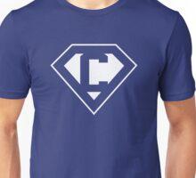 C letter in Superman style Unisex T-Shirt