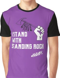 I Stand with Standing Rock Graphic T-Shirt