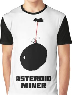 Asteroid Miner Graphic T-Shirt