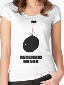 Asteroid Miner Women's Fitted Scoop T-Shirt