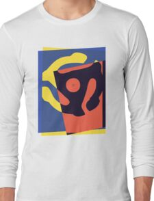 Pop Art 45 Symbol 1 Long Sleeve T-Shirt