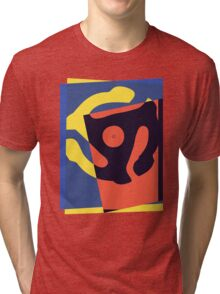 Pop Art 45 Symbol 1 Tri-blend T-Shirt
