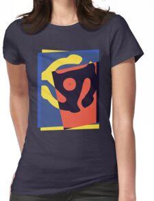 Pop Art 45 Symbol 1 Womens Fitted T-Shirt