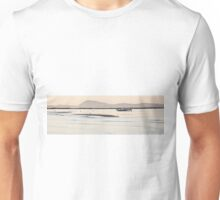 Fishermen as they bring their boat at sea Unisex T-Shirt