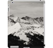Black and white mountain iPad Case/Skin